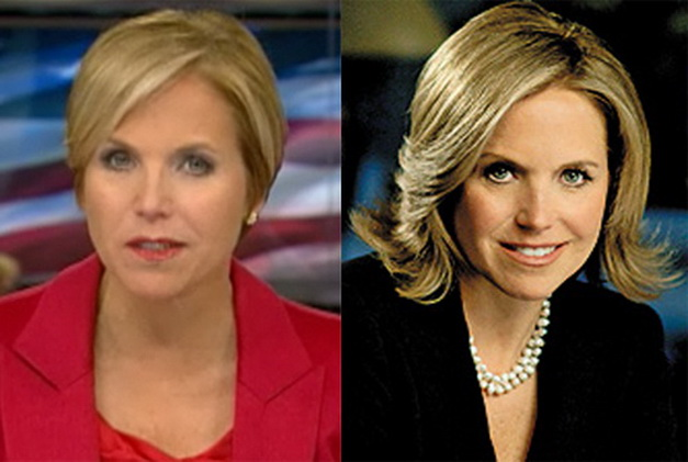 Katie Couric Nose Job Before And After Plastic Surgery pictures