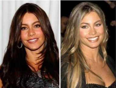 Sofia Vergara Nose Job Plastic Surgery Before After Photos