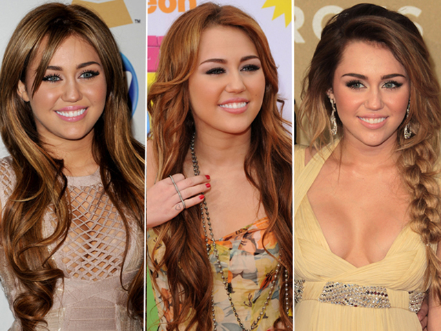Copy of Miley Cyrus Nose Job Plastic Surgery before and After Photos2