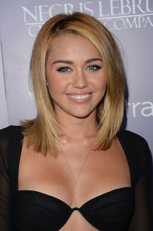 Miley Cyrus Nose Job Plastic Surgery Before And After Photos