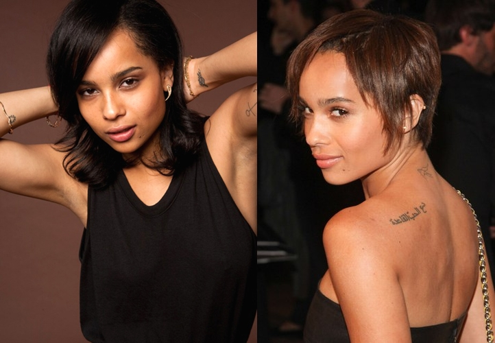 Zoe Kravitz plastic surgery before and after pictures