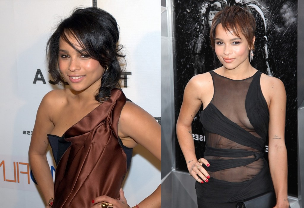 Zoe Kravitz plastic surgery plastic surgery before and after picturess