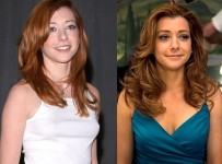 Alyson Hannigan Breast Implants plastic Surgery Before and After Photos