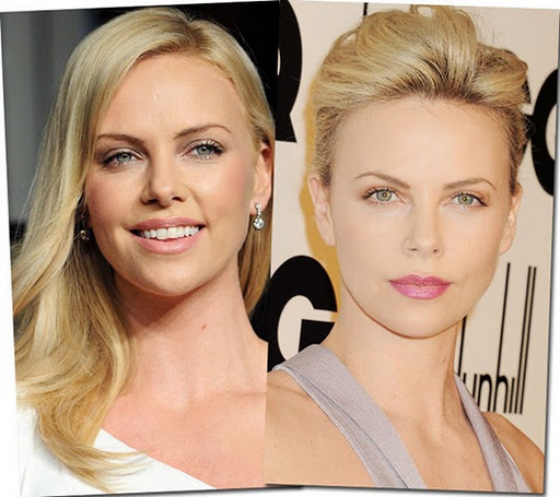 Charlize Theron Plastic Surgery Before And After Nose job Picture, Photos