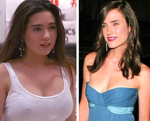 Jennifer Connelly plastic Surgery before and After Photos 1