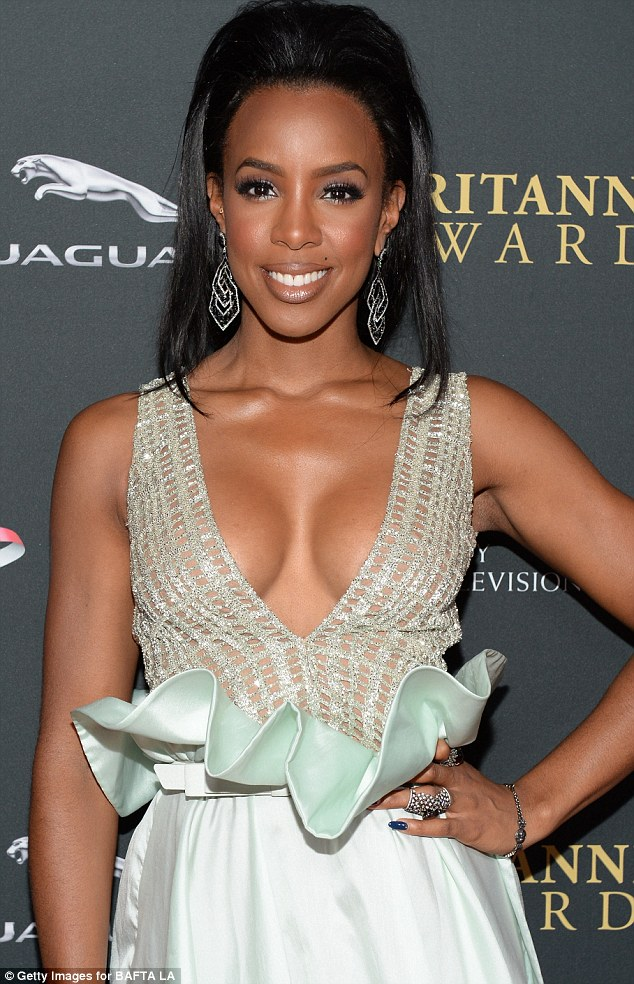 Kelly Rowland breast implants plastic surgery before and after photos, pic