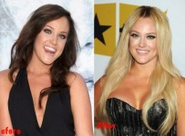 Lacey Schwimmer breast implants plastic surgery before and after boobs job photos