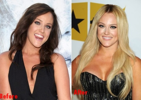 Britney comparative boob size