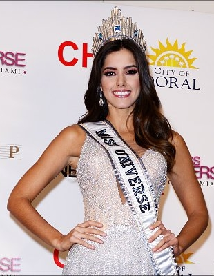 Paulina Vega Miss Universe plastic surgery before and after photos 1