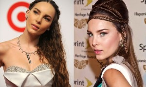 Belinda Peregrin nose job plastic surgery before and after photos 1