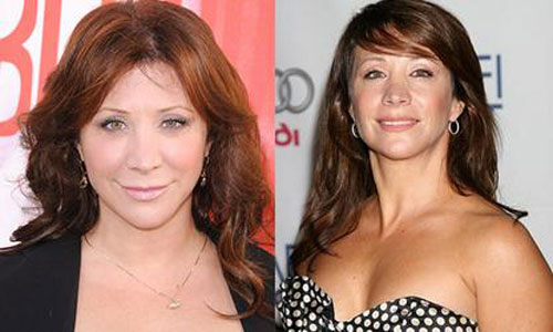 Cheri Oteri nose job plastic surgery before and after photos 2