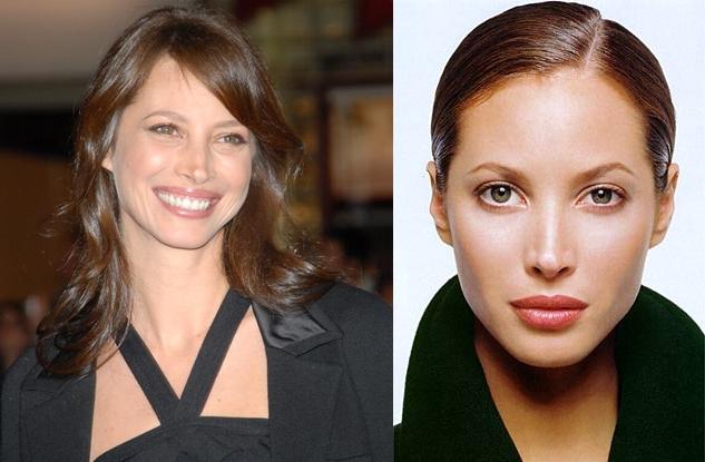 Christy Turlington Nose Job Surgery Before And After Photos 1