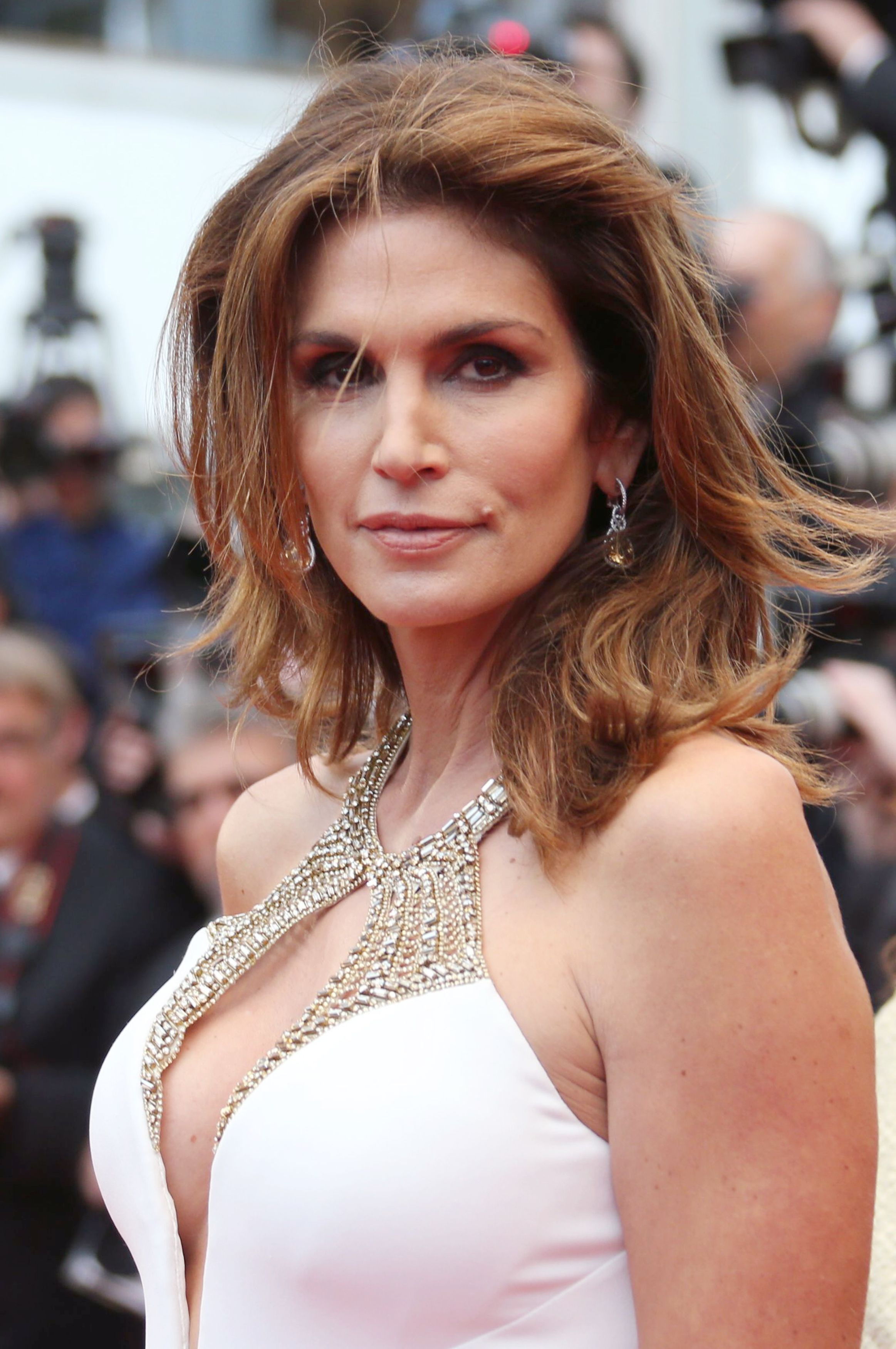 Cindy Crawford plastic surgery before and after botox, facelift photos 1