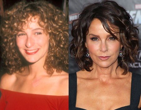 Jennifer Grey plastic surgery nose job gone wrong before and after 1