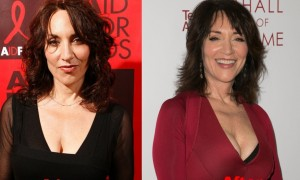 Katey Sagal breast implants plastic surgery before and after boobs job photos ,
