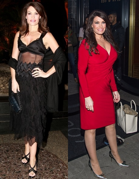 Kimberly Guilfoyle breast implants Surgery Before and After Boobs Job photos