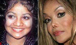 La Toya Jackson plastic surgery gone wrong before and after photos 2