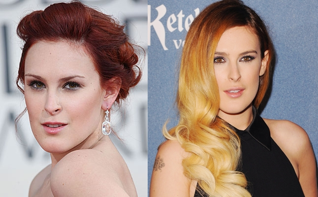 Rumer Glenn Willis or Rumer Willis plastic surgery before and after face photos 1