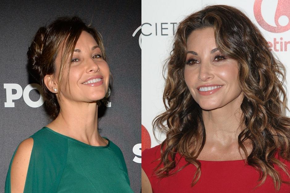 Gina Gershon nose job surgery before and after photos 2