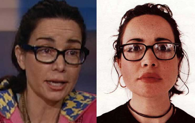 Janeane Garofalo plastic surgery before and after photos 2