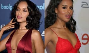 Kerry Washington Breast Implants Plastic Surgery Before And After Boobs Job