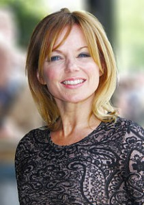 Geri Halliwell plastic surgery botox before and after face photos
