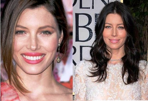 Jessica Biel Plastic Surgery Before And After Nose Job Photos 1