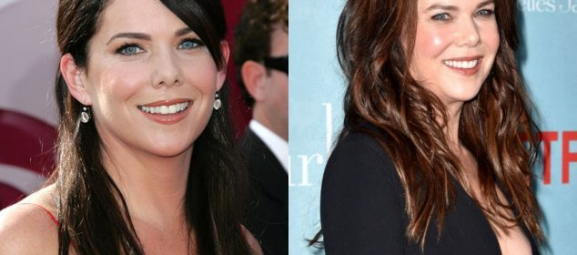 Lauren Graham Nose Job Before And After Pictures