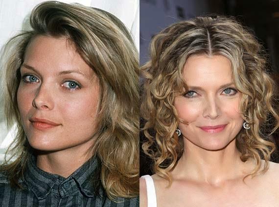Michelle Pfeiffer Plastic Surgery For Nose Job   LONG ...