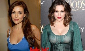 Alyssa Milano Plastic Surgery Before And After Boob Job Photos