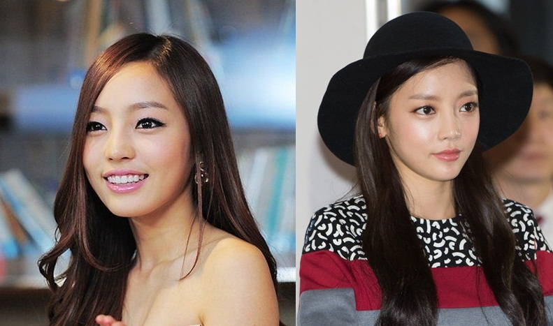 Goo Hara plastic surgery before and after pictures 2
