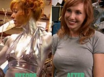 Kari Byron plastic surgery breast implants before and After Pictures Boob Job 1