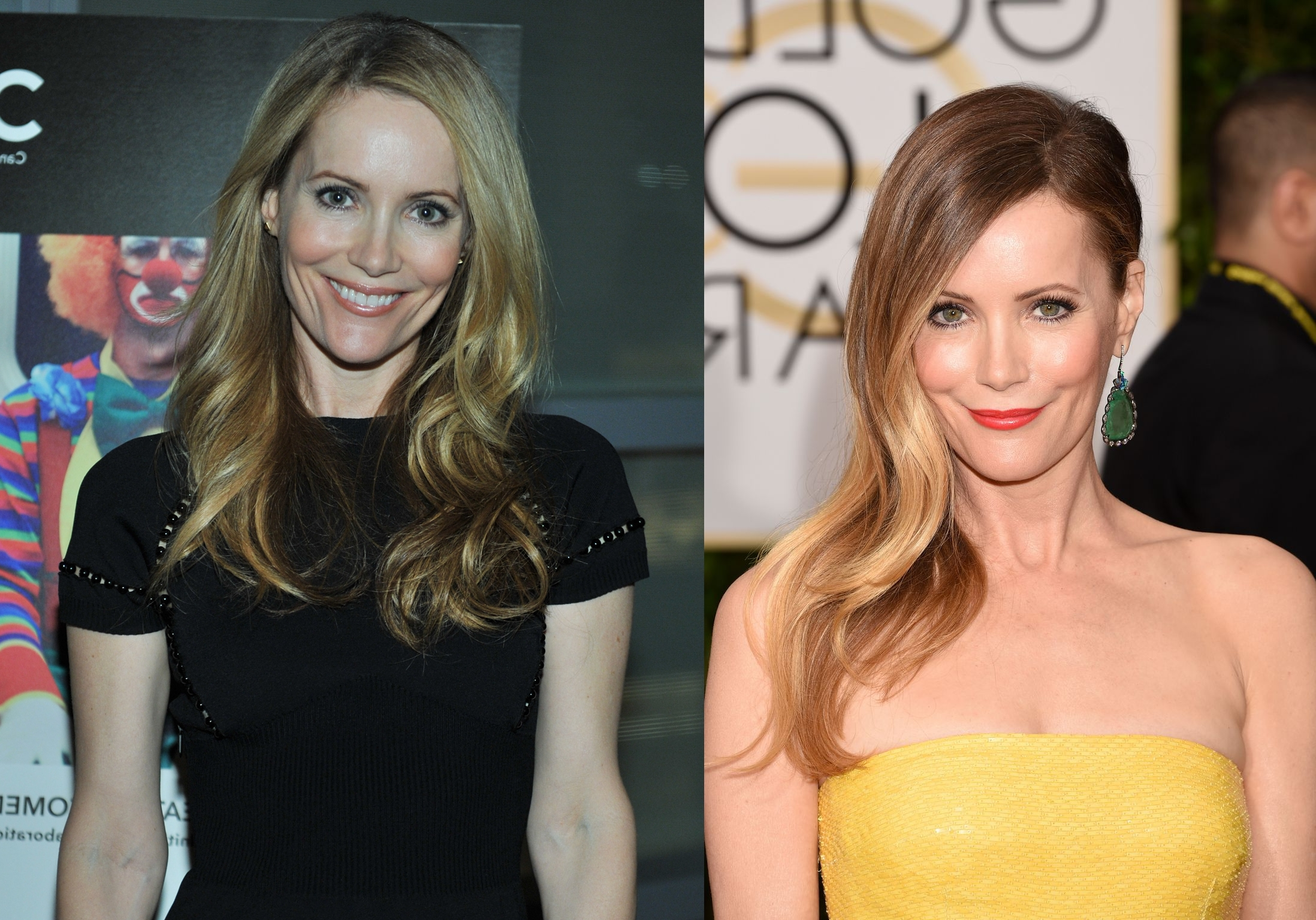 Blonde hair leslie mann boob reducution way