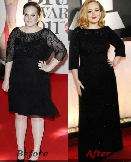 Adele Weight Loss Before And After Photos How Much
