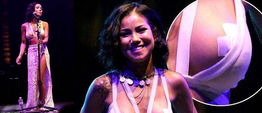 Jhene Aiko Breast Implants Before And After Photos-horz