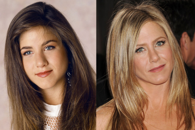 Jennifer Aniston Nose Job Surgery Before And After Photos