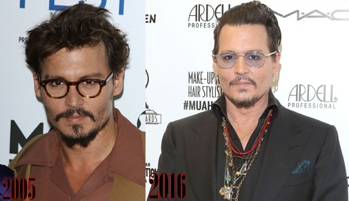 Johnny Depp Nose Job Plastic Surgery Before And After Photos