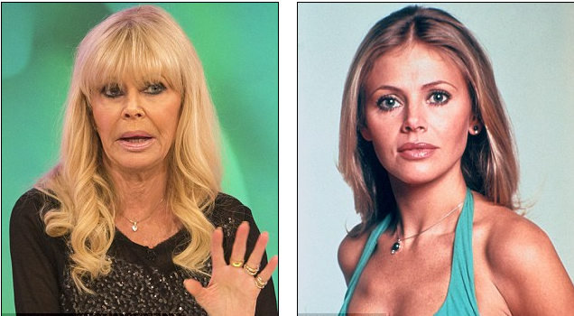 Britt Ekland Revealed Plastic Surgery Before And After Photos