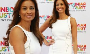 Melanie Sykes Plastic Surgery Before And After Breasts Implants Photos