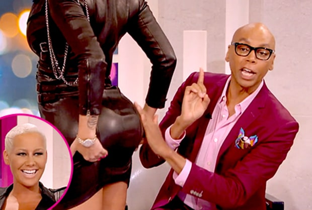 Amber Rose Plastic Surgery Before And After Butt Implants,