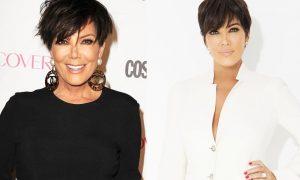 Kris Kardashian Plastic Surgery Before And After Boobs Job, Botox photos