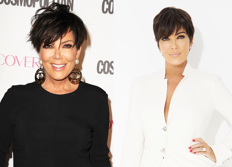 Kris Kardashian Plastic Surgery Before And After Boob Job, Botox photos
