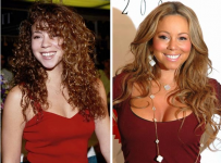 Mariah Carey Boobs Job Plastic Surgery Before And After Photos