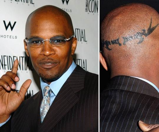 Jamie Foxx Hairline Surgery Before And After Photos