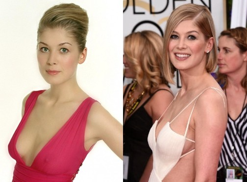 Rosamund Pike Plastic Surgery Rumors Before And After Photos