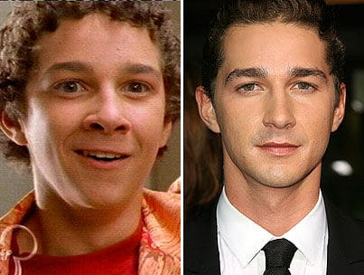 Shia Labeouf Nose Job Plastic Surgery Rumors Before And After Photos