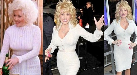 Dolly Parton Breasts Implants