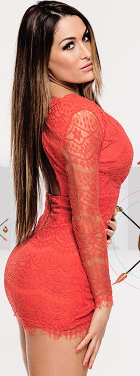 Nikki Bella Breast Implants Before And After Photos