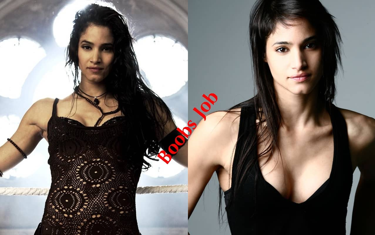 Sofia Boutella plastic surgery before and after Boobs Job photos