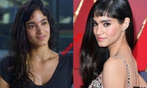 Sofia Boutella plastic surgery before and after Nose Job photos